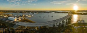 View of Town Creek Marina